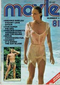 Movie Magazine 1981 Number 4 Tarzan The Ape Man Sexy Bo Derek