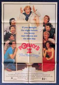 Porky's 2 The Next Day Movie Poster Original One Sheet 1983 Dan Monahan
