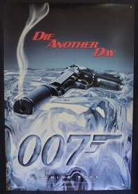 Die Another Day 2002 Pierce Brosnan ROLLED Gun teaser art D/S One Sheet movie poster