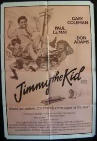 Jimmy The Kid 1982 One Sheet Movie Poster Gary Coleman Don Adams