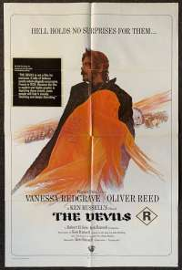 The Devils Poster One Sheet USA Original 1971 Ken Russell Horror Witchcraft