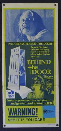 Behind The Door Poster Daybill Original 1974 Juliet Mills Horror Possession