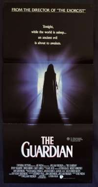 The Guardian 1990 movie poster Daybill Jenny Seagrove William Friedkin Horror