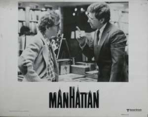 "Manhattan Lobby Card No. 1 USA 11"" x 14"" Woody Allen Diane Keaton"