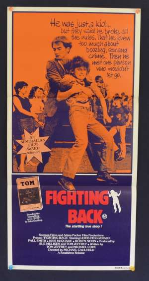 Fighting Back 1982 Daybill movie poster Lewis Fitz-Gerald Paul Smith