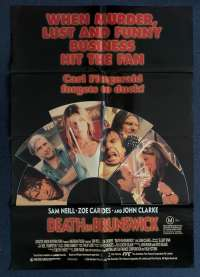 Death In Brunswick 1990 One Sheet Movie Poster Sam Neill John Clarke