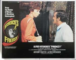 Frenzy Lobby Card 11x14 USA No 1 Original 1972 Hitchcock Jon Finch Alec McCowen