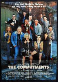 The Commitments 1991 One Sheet movie poster Alan Parker Andrew Strong Irish Music