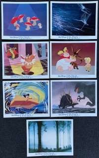 Fantasia 1940 Disney Mickey Mouse 11x14 Lobby Card Set Re-Issue