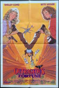 Outrageous Fortune One Sheet Australian Movie poster