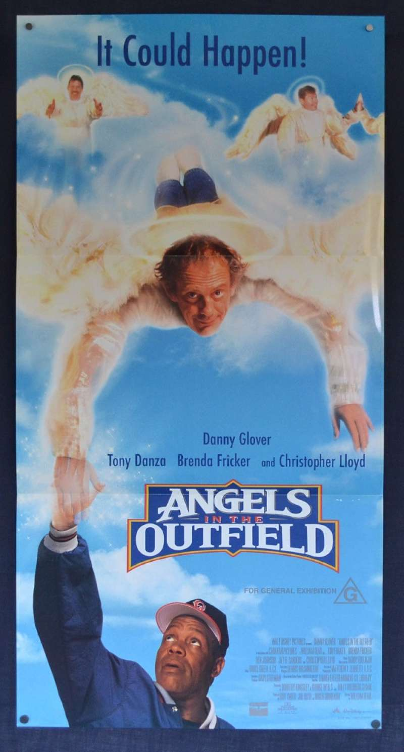 All About Movies - Angels In The Outfield Poster Original