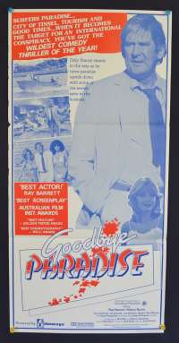 Goodbye Paradise Movie Poster Original Daybill Ray Barrett