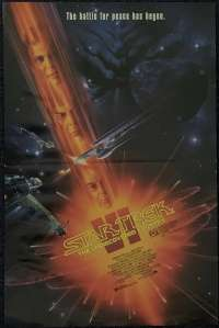 Star Trek 6 VI The Undiscovered Country 1991 Daybill Mini Poster