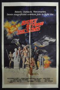 Battle Beyond The Stars Poster Original One Sheet 1980 Roger Corman Sci-Fi