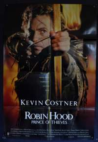 Robin Hood Prince Of Thieves Poster Original One Sheet Kevin Costner Advance Art