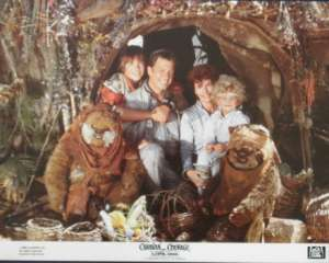 Caravan Of Courage: The Ewok Adventure Lobby Card Star Wars