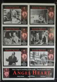 Angel Heart Robert De Niro Lisa Bonet Australian Photosheet movie poster