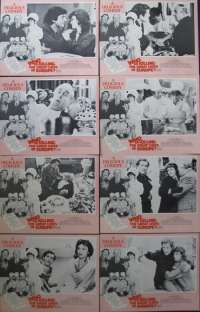 Who Is Killing The Great Chefs Of Europe Lobby Card Set Original USA 1978
