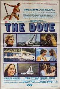 The Dove 1974 One Sheet Movie Poster Joseph Bottoms Gregory Peck