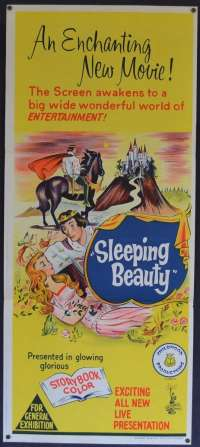 Sleeping Beauty Movie Poster AKA Dornroschen Angela von Leitner