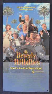 The Beverly Hillbillies Movie Poster Original Daybill 1993 Dabney Coleman