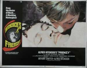Frenzy Lobby Card 11x14 USA No 4 Original 1972 Hitchcock Jon Finch Alec McCowen