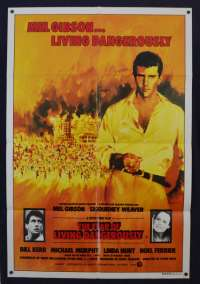 The Year Of Living Dangerously 1982 One Sheet Poster Mel Gibson Linda Hunt