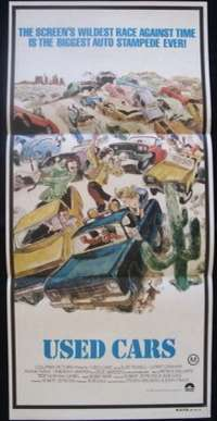 Used Cars Daybill Movie poster