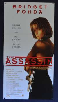 The Assassin Movie Poster Original Daybill 1993 Bridget Fonda Aka Point Of No Return