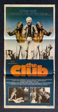 The Club Movie Poster Original Daybill 1980 Jack Thompson Collingwood Football Club