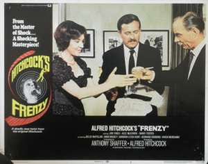 Frenzy Lobby Card 11x14 USA No 6 Original 1972 Hitchcock Jon Finch Alec McCowen