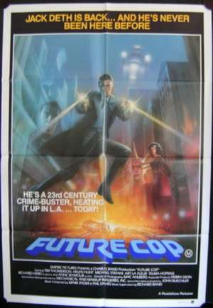Future Cop movie poster One Sheet Helen Hunt Tim Thomerson