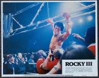 "Rocky III Lobby Card No 8 USA 11"" x 14"" Sylvester Stallone Boxing"