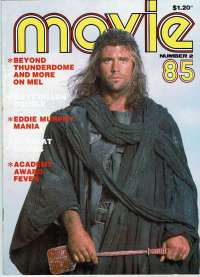 Movie Magazine 1985 Number 2 Mad Max 3 Mel Gibson