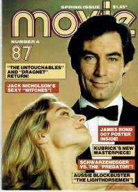 The Living Daylights Movie Magazine 1987 Number 4 Timothy Dalton