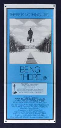 Being There 1979 Daybill movie poster Peter Sellers Shirley Maclaine