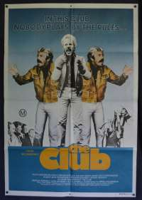The Club Poster Original One Sheet 1980 Jack Thompson Collingwood Football Club