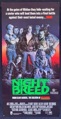 Nightbreed Craig Sheffer David Cronenberg Daybill movie poster