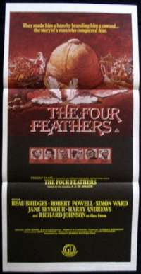 Four Feathers, The Daybill Movie poster