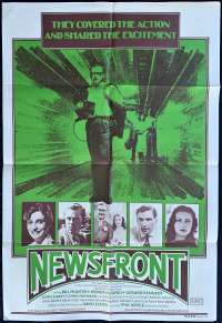 Newsfront Movie Poster Original One Sheet 1978 Phillip Noyce Bill Hunter
