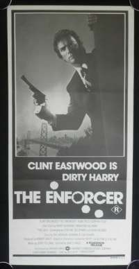 The Enforcer 1976 movie poster Clint Eastwood Dirty Harry Daybill