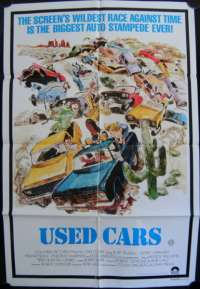 Used Cars One Sheet Australian Movie poster