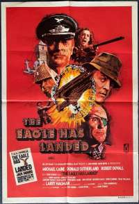 The Eagle Has Landed Poster Original One Sheet 1976 Michael Caine Donald Sutherland