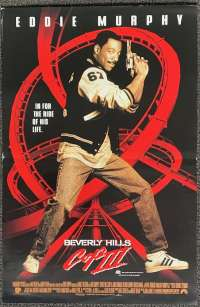 Beverly Hills Cop 3 1994 Daybill movie poster Eddie Murphy Judge Reinhold