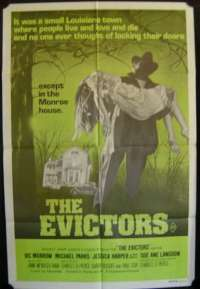 The Evictors 1979 One Sheet movie poster Horror Vic Morrow