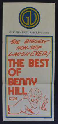 Best OF Benny Hill 1974 Daybill movie poster Benny Hill, Patricia Hayes