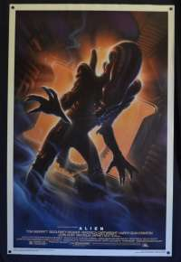 Alien Poster One Sheet USA Original 1994 Horror John Alvin Art