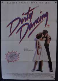 Dirty Dancing Poster Original One Sheet 1987 Patrick Swayze Jennifer Grey