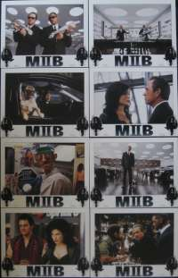 Men in Black II Lobby Card Set USA Will Smith Tommy Lee Jones