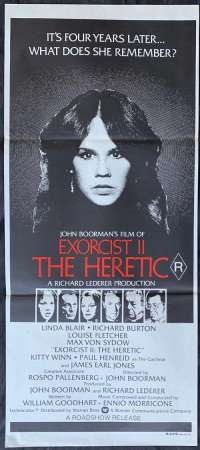 Exorcist II: The Heretic Linda Blair Daybill movie poster